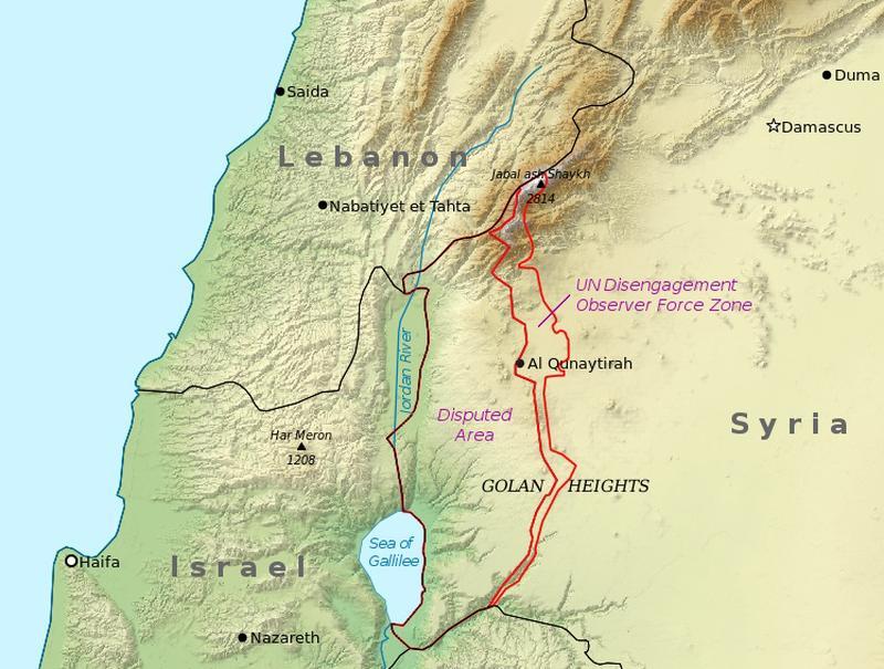 grenzen israels nach der bibel